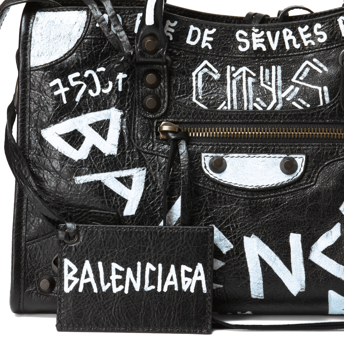 7014fbc90cde 431621 バレンシアガ balenciaga bag lady 0fe1t 1090 shoulders handbag small graffiti  classic city graffiti classical music