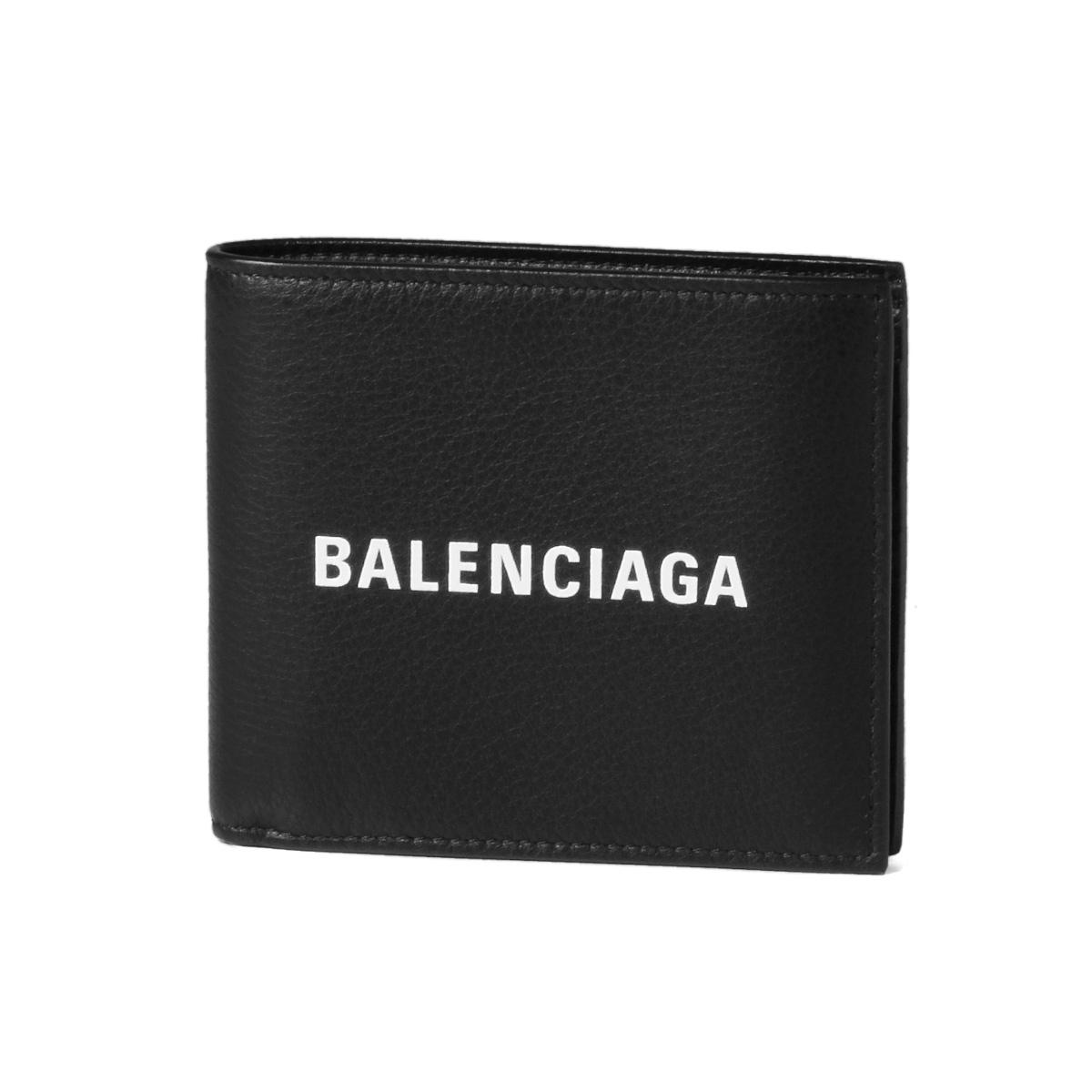 89ad0ed0 485108 バレンシアガ BALENCIAGA wallet men DLQHN 1060 folio wallet EVERYDAY  everyday NOIR/L BLANC black