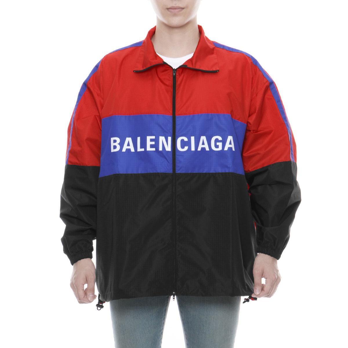 les ventes chaudes 70025 8a6bc 534317 バレンシアガ BALENCIAGA outer men TYD33 6210 jacket ROUGE/NOIR multicolored