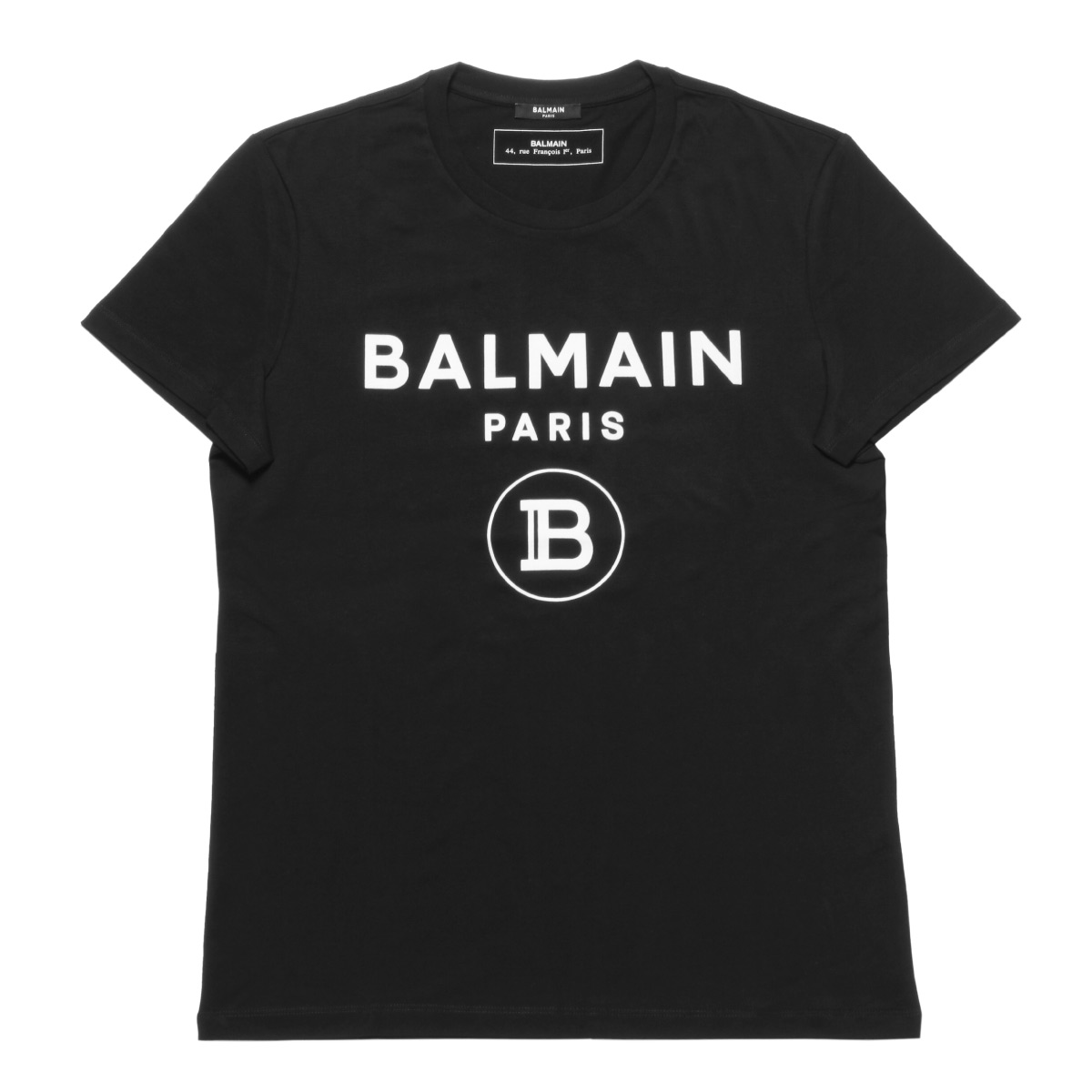 バルマン BALMAIN Tシャツ メンズ TH11601I245 0PA 半袖Tシャツ NOIR ブラック