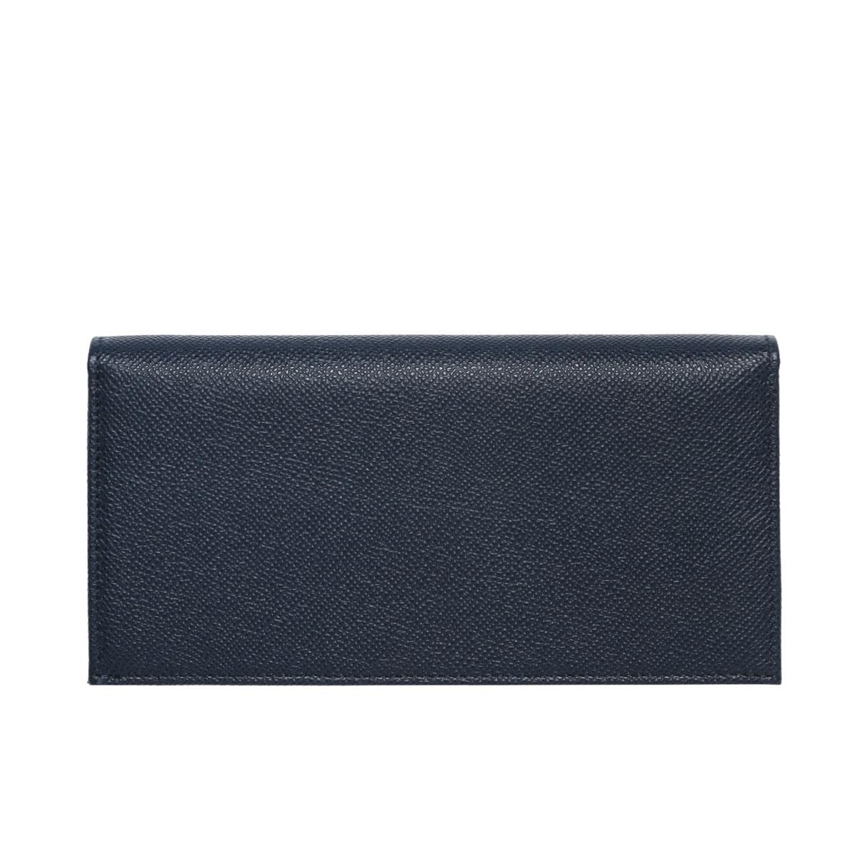 5921e942 286057 Bulgari BVLGARI wallet men folio long wallet BVLGARI BVLGARI MAN  Bulgari Bulgari man DENIM SAPPHIRE/PALLADIUM blue