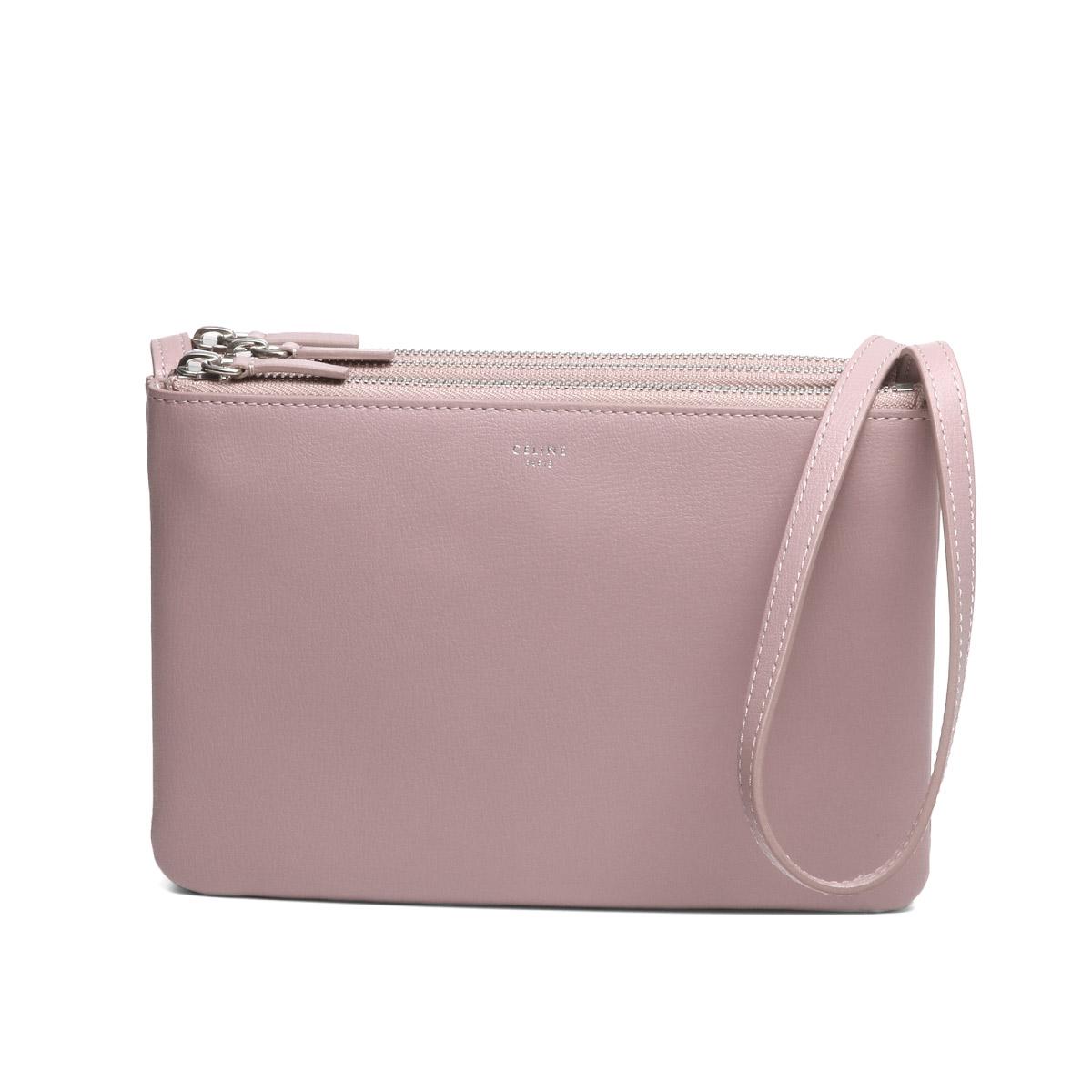 bbfa3fafc4 importshopdouble  Celine CELINE bag lady 165113B2Y 24RS shoulder bag TRIO  trio ANTIQUE ROSE pink