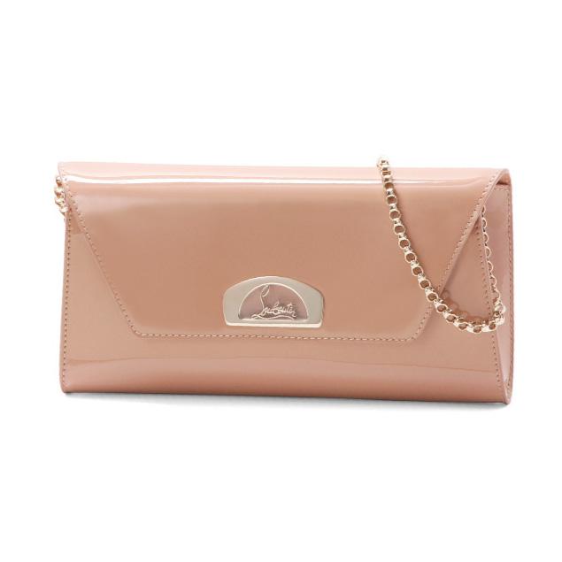 438f78e80aef Christian Louboutin Christian Louboutin strap clutch purse NUDE beige VERO  DODAT Vero one