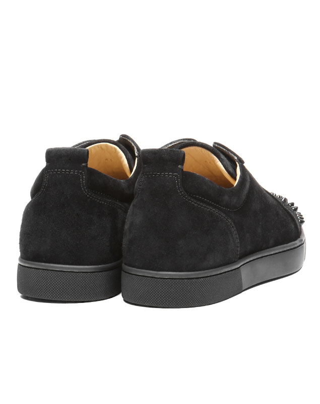 sports shoes 8f418 9a8c0 1130575 クリスチャンルブタン Christian Louboutin shoes men CM53 sneakers LOUIS JUNIOR  SPIKES Lewis Junius pikes BLACK/BLACK black