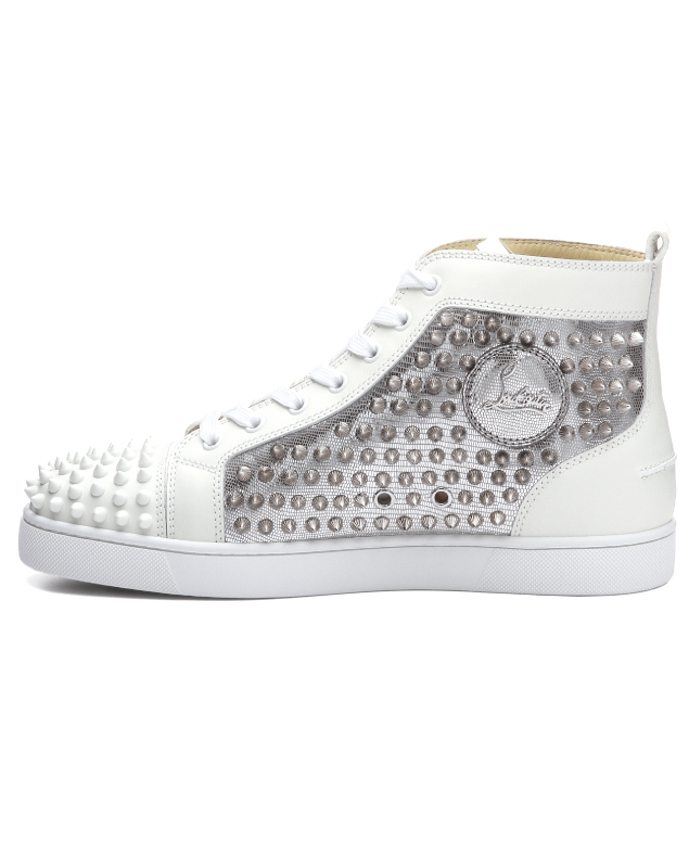 20c0ab5065e 1180206 クリスチャンルブタン Christian Louboutin shoes men W083 sneakers higher  frequency elimination YANG LOUIS FLAT SPIKES Jan Lewis flat spikes ...