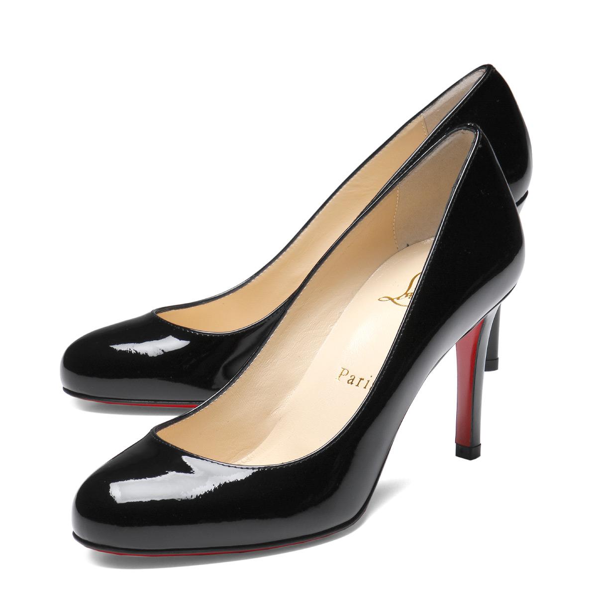 newest ea0f2 9b41b クリスチャンルブタン Christian Louboutin shoes Lady's 1180592 BK01 plane toe pumps  FIFILLE フィフィーユ BLACK black