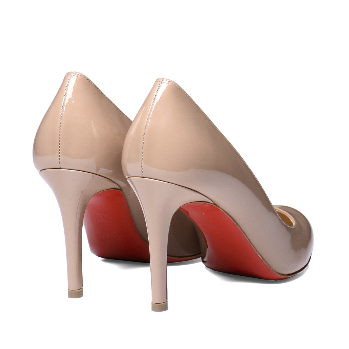 acheter pas cher 6030f bd2c7 クリスチャンルブタン Christian Louboutin shoes Lady's 1180592 PK1A plane toe pumps  FIFILLE フィフィーユ NUDE beige