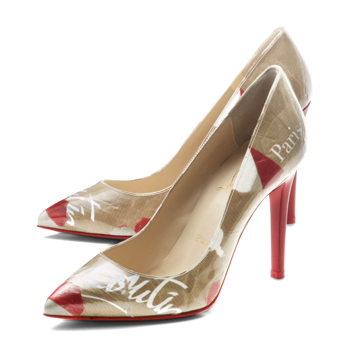 importshopdouble  クリスチャンルブタン Christian Louboutin shoes Lady s 3180597 H332  pointed toe pumps PIGALLE LOUBI KRAFT ピガールルビクラフト KRAFT LOUBI ... 9f0b7a8f1