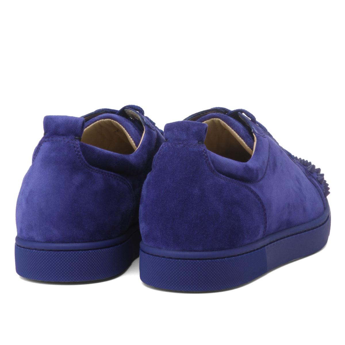 ab7515c8aef 1180051 クリスチャンルブタン Christian Louboutin shoes men V083 sneakers LOUIS JUNIOR  SPIKES FLAT Lewis Junius pike staple fiber rat ...