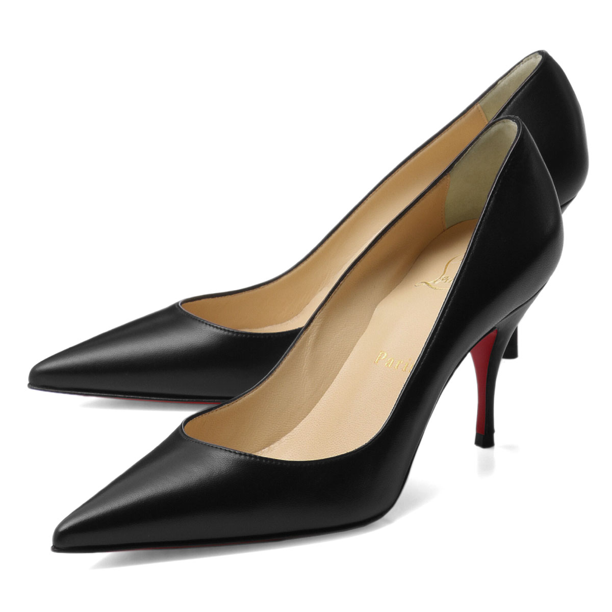 sale retailer 1bacc d02b4 クリスチャンルブタン Christian Louboutin shoes Lady's 3190531 BK01 pointed toe pumps  CLARE Clare BLACK black
