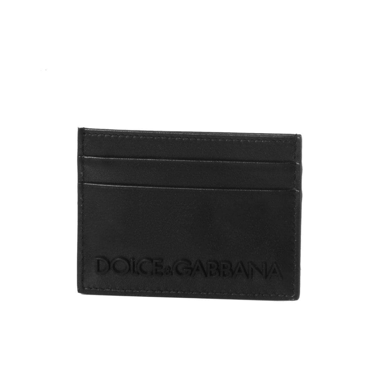 ドルチェアンドガッバーナ DOLCE&GABBANA カードケース メンズ BP0330 AZ106 8B956 NERO/NERO ブラック