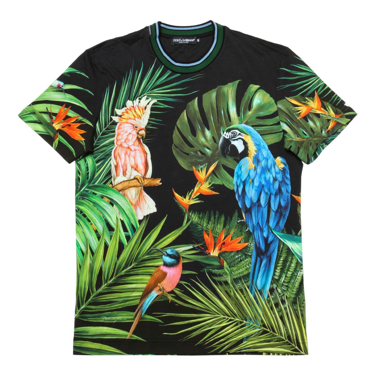 ドルチェアンドガッバーナ DOLCE&GABBANA Tシャツ メンズ G8KD0T FI7VA HN1MH 半袖Tシャツ MULTICOLOR マルチカラー