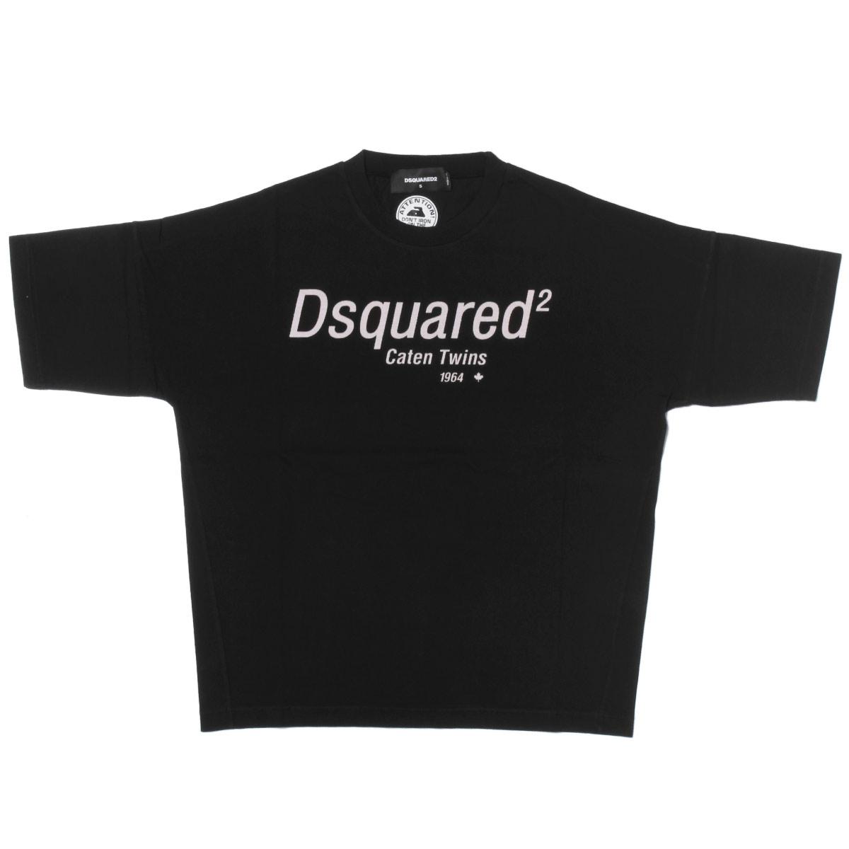 ディースクエアード DSQUARED 2 Tシャツ レディース S72GD0072 S22427 900 半袖Tシャツ BLACK ブラック