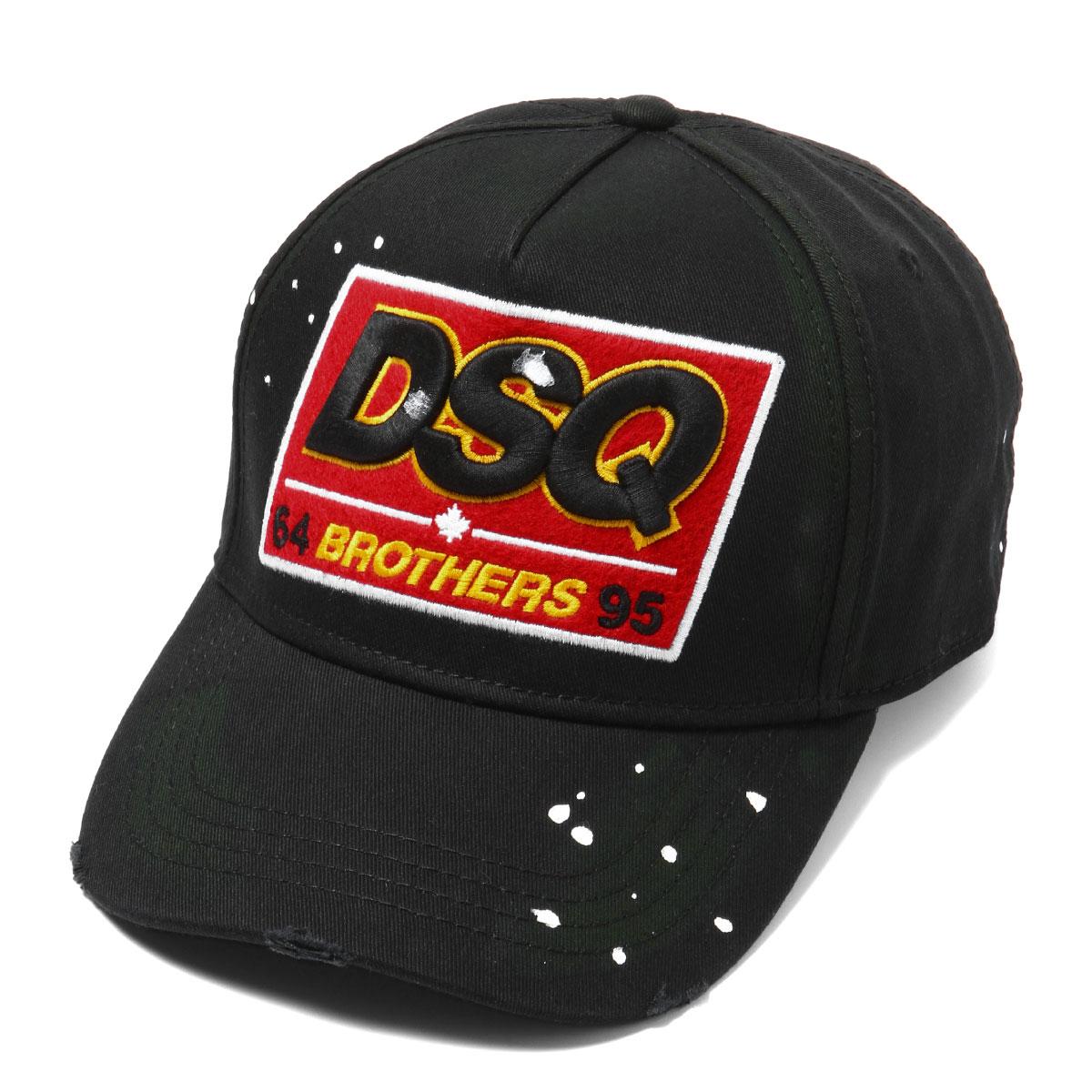 ディースクエアード DSQUARED 2 キャップ メンズ BCM0066 05C00001 2124 NERO ブラック