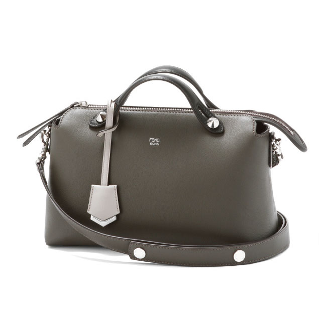 c583eca1784d Shoulder with a FENDI Fendi handbag small CARBONE+G.POLV+MLC+P dark grey BY  THE WAY by the way
