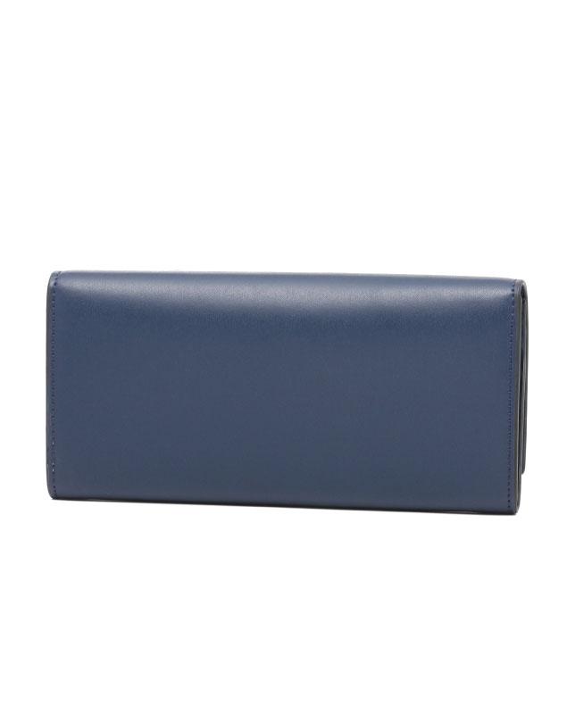 芬迪FENDI钱包女士8M0251 SME F0KR1对开长钱包BLU+PALLADIO藏青