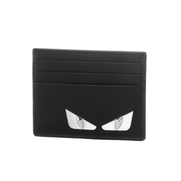フェンディ FENDI カードケース メンズ 7M0164 O74 F0GXN NERO+PALLADIO ブラック