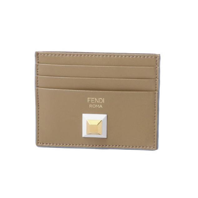 フェンディ FENDI カードケース レディース 8M0269 2SS F09YB SAND+BDX+OS ベージュ