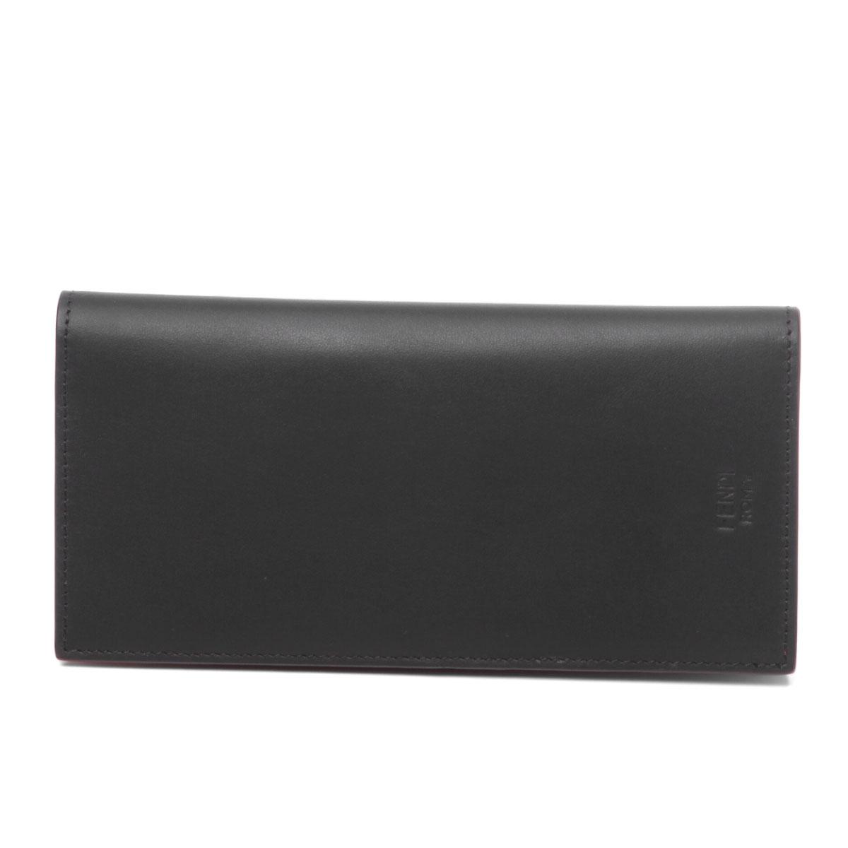 c8f1ae25 Fendi FENDI wallet men 7M0244 O73 F0U9T folio long wallet BAG BUGS bag bugs  NERO+GIALLO+ROSSO black