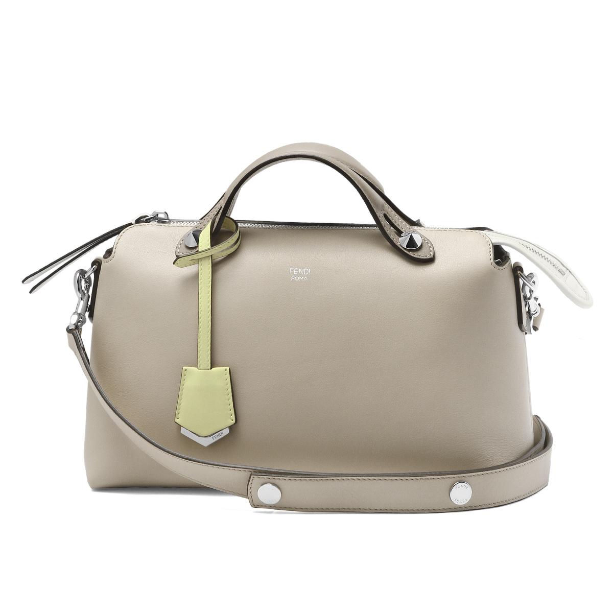 Fendi FENDI Bag Lady 8BL124 5QJ F136L Shoulder Handbag Small BY THE WAY Visor Way NUVOLA TORT MLC P Beige Belonging To
