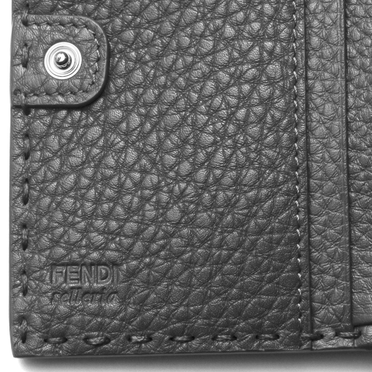 ae46791ecc ... Fendi FENDI wallet Lady's 8M0359 SFR F0JGZ folio wallet medium PEEKABOO  SELLERIA ピーカブーセレリア ASFALTO+ ...