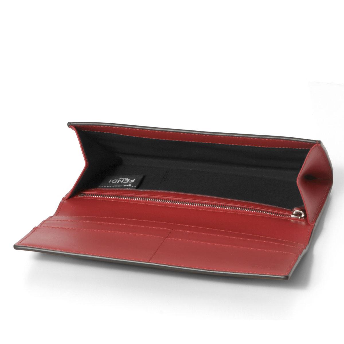 cf4f875f Fendi FENDI wallet men 7M0264 O73 F0U9T folio long wallet BAG BUGS bag bugs  NERO+GIALLO+ROSSO black