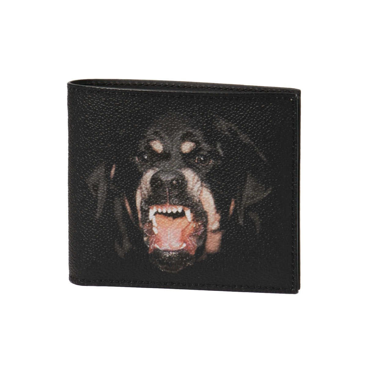 ジバンシー GIVENCHY 財布 メンズ BK06021337 960 ロットワイラー 二つ折り財布 MULTICOLORE ブラック