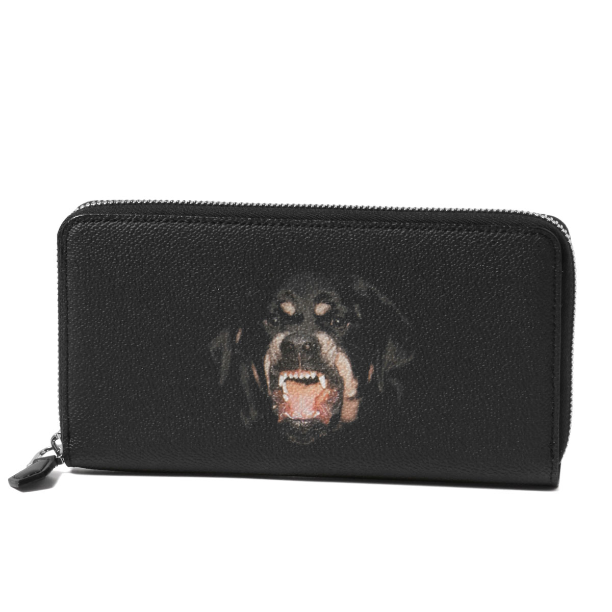 6fa1692b7b importshopdouble  Givenchy GIVENCHY wallet men BK06040337 960 Rottweiler  round fastener long wallet MULTICOLORED black
