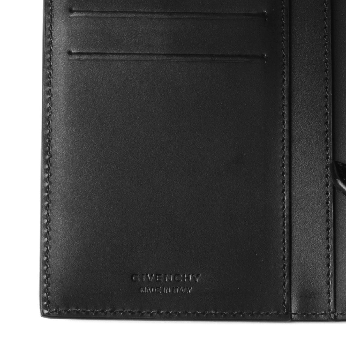 6df1b313 Givenchy GIVENCHY wallet men BK600KK0EA 004 folio long wallet BLACK/WHITE  black