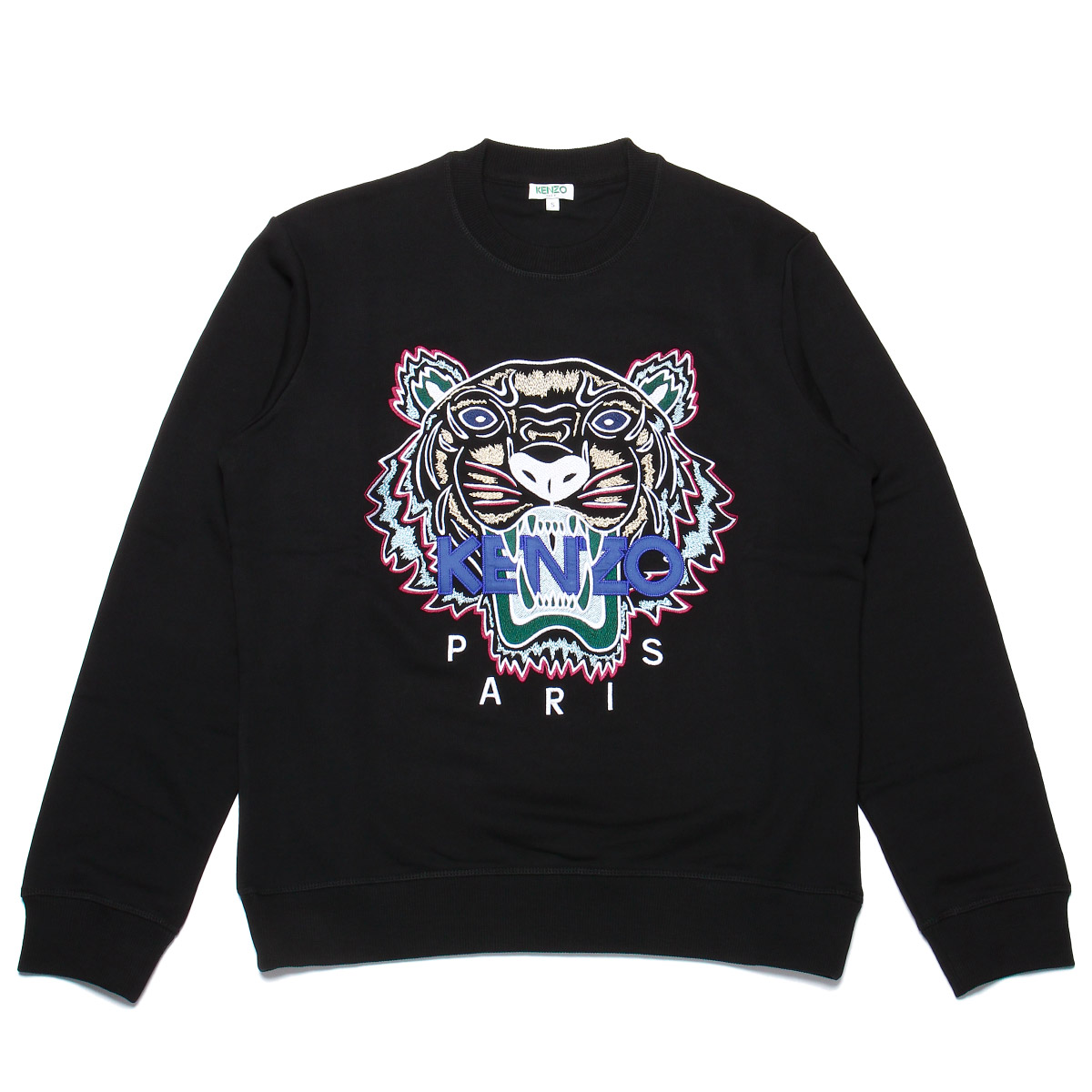 d0a9ce11d3e Kenzo KENZO sweat shirt men 5SW0014XA 99 long sleeves sweat shirt BLACK  black ...