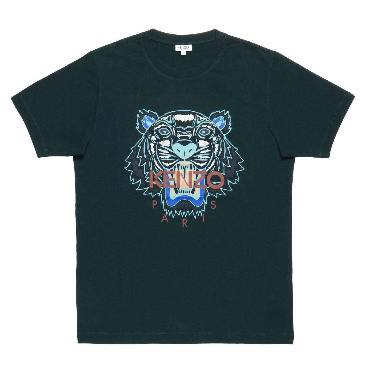 ケンゾー KENZO Tシャツ メンズ 5TS0504YA 53 半袖Tシャツ GREEN グリーン