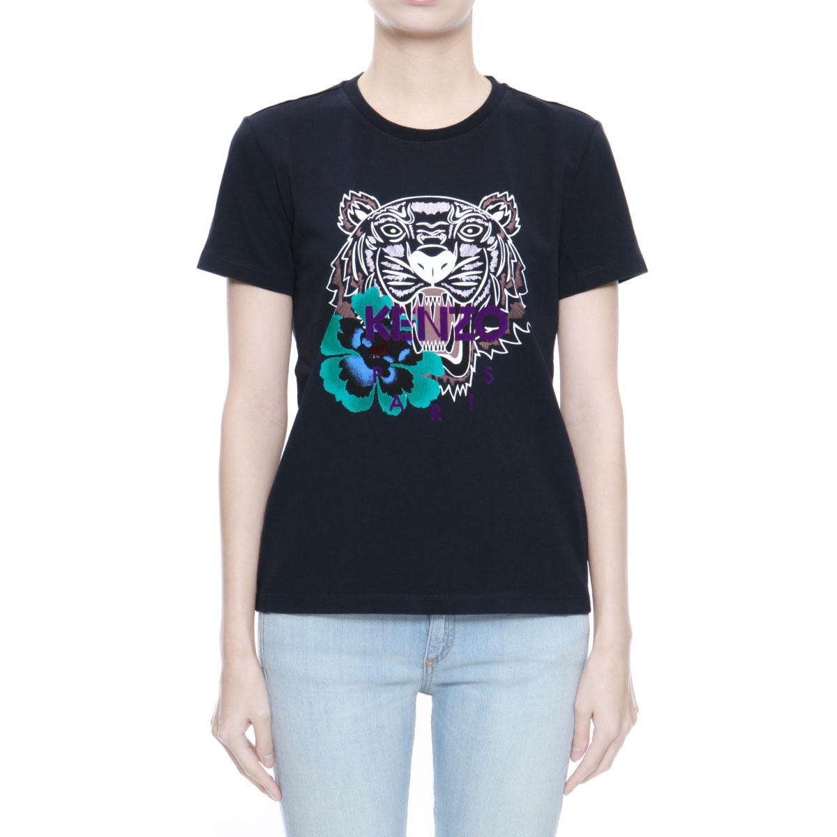 1d94c33855 楽天市場】ケンゾー KENZO Tシャツ レディース 2TS7634YG 78 半袖Tシャツ ...