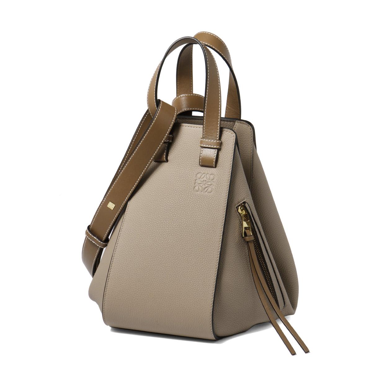 387 Loewe LOEWE bag lady 12KBN60 2566 shoulders handbag Small HAMMOCK hammock SANDMIN beige belonging to