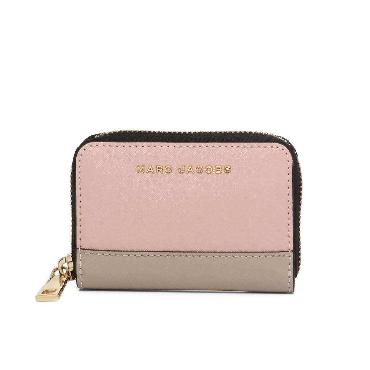 6fbfaa8d47be SAFFIANO METAL LETTERS STANDARD CONTINENTAL WALLET [サフィアノ メタルレター] MARC  JACOBS マークジェイコブス 財布 ラウンドファスナー ...