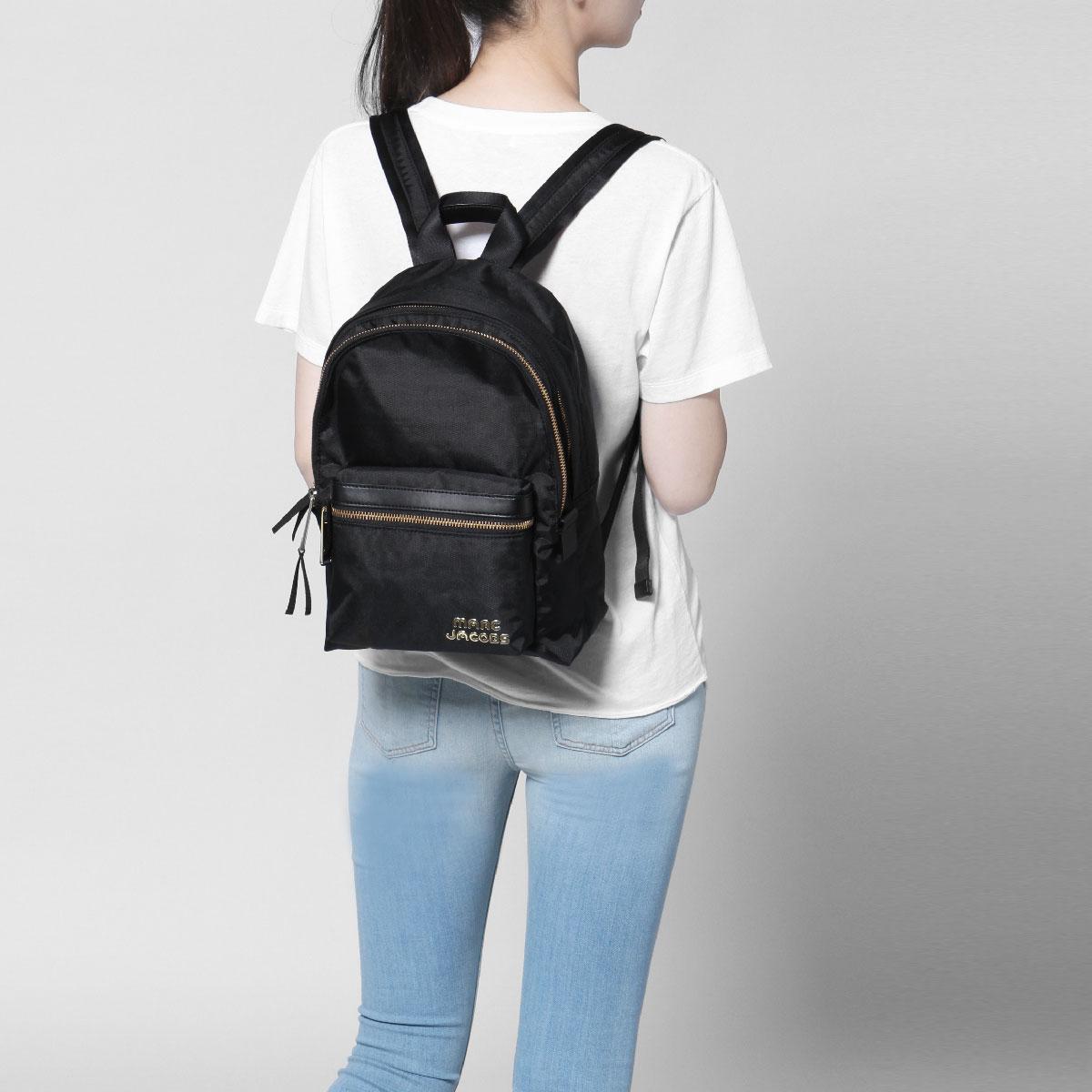 Mark Jacobs MARC JACOBS bag lady M0014031 001 backpack medium TREK PACK  trek pack BLACK black e1146180c8039