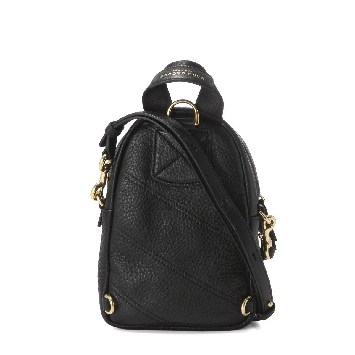 professional website hot-selling latest best authentic Mark Jacobs MARC JACOBS bag lady M0014269 001 shoulder backpack micro TREK  PACK trek pack BLACK black belonging to