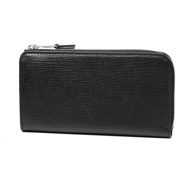 マルタン マルジェラ MARTIN MARGIELA 財布 メンズ S55UI0139 SY0966 900 ライン11 L字ファスナー長財布 BLACK ブラック