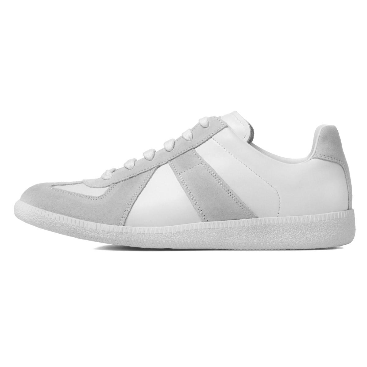 9646de20082 メゾンマルジェラ MAISON MARGIELA shoes men S57WS0236 P1897 101 line 22 German  trainer shoes REPLICA replica WHITE white