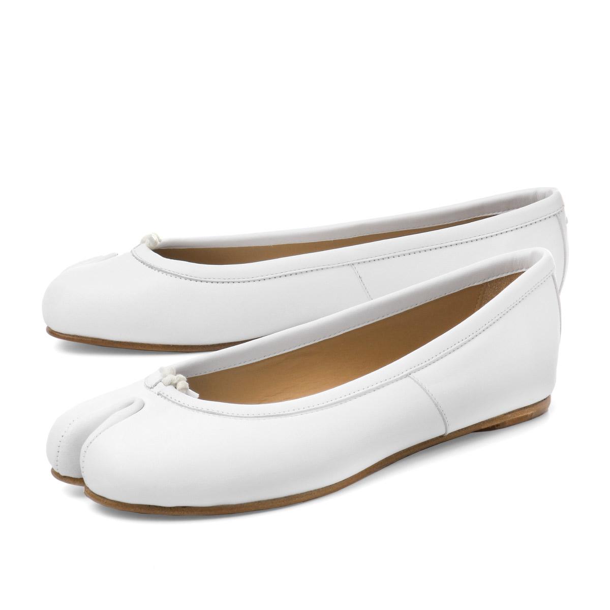 c2eecdfde23 importshopdouble: メゾンマルジェラ MAISON MARGIELA shoes Lady's S58WZ0046 PR516  T1003 line 22 ballet shoes TABI タビ WHITE white | Rakuten Global Market
