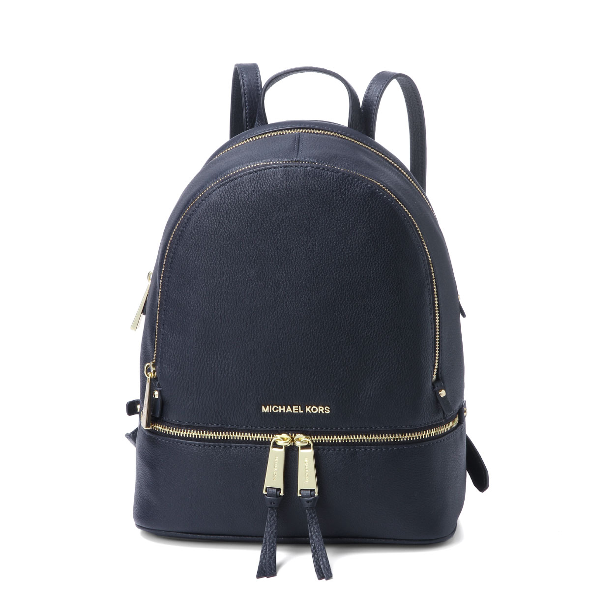 fffb23c88 Michael Kors MICHAEL KORS bag lady 30S5GEZB1L 414 backpack medium RHEA rare  ADMIRAL dark blue ...