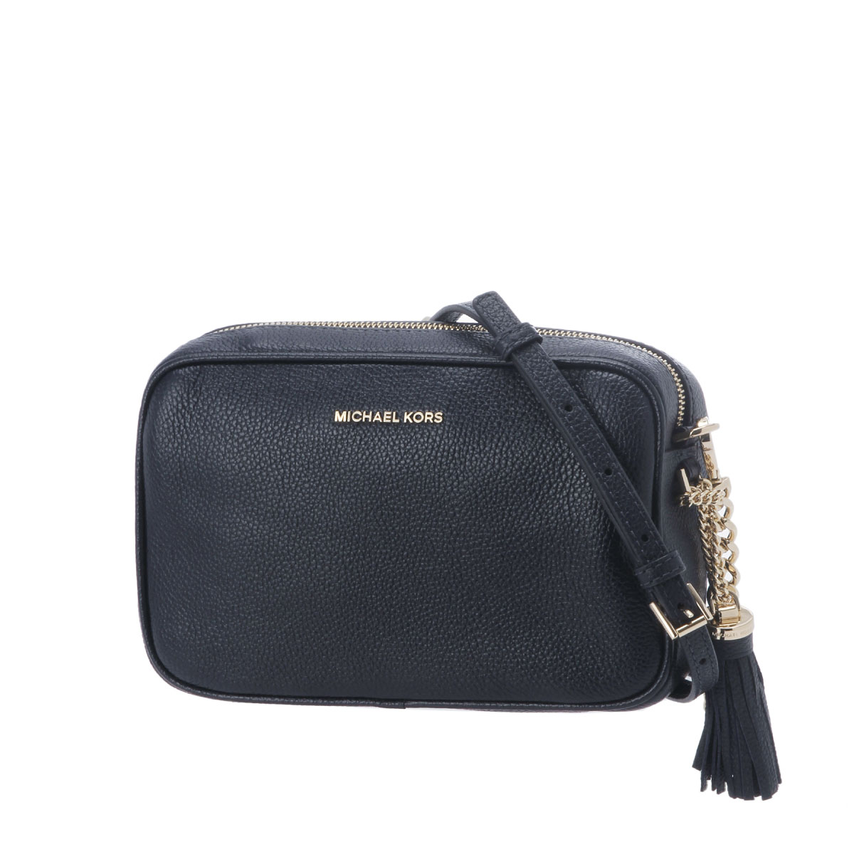 Michael Kors MICHAEL KORS bag lady 32F7GGNM8L 414 shoulder clutch bag  medium GINNY Ginie ADMIRAL dark blue belonging to 8e320a5ede62d