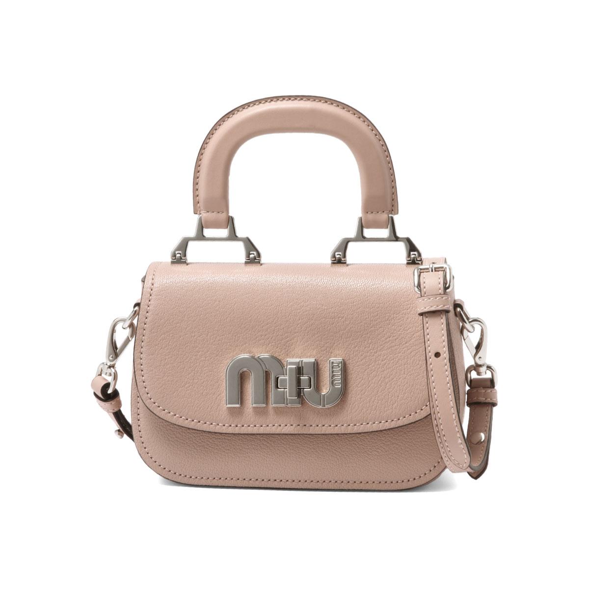 ミュウミュウ MIU MIU bag lady 5BD085 2AJB F0615 shoulder handbag ORCHIDEA pink  belonging to ee0aa272808e7