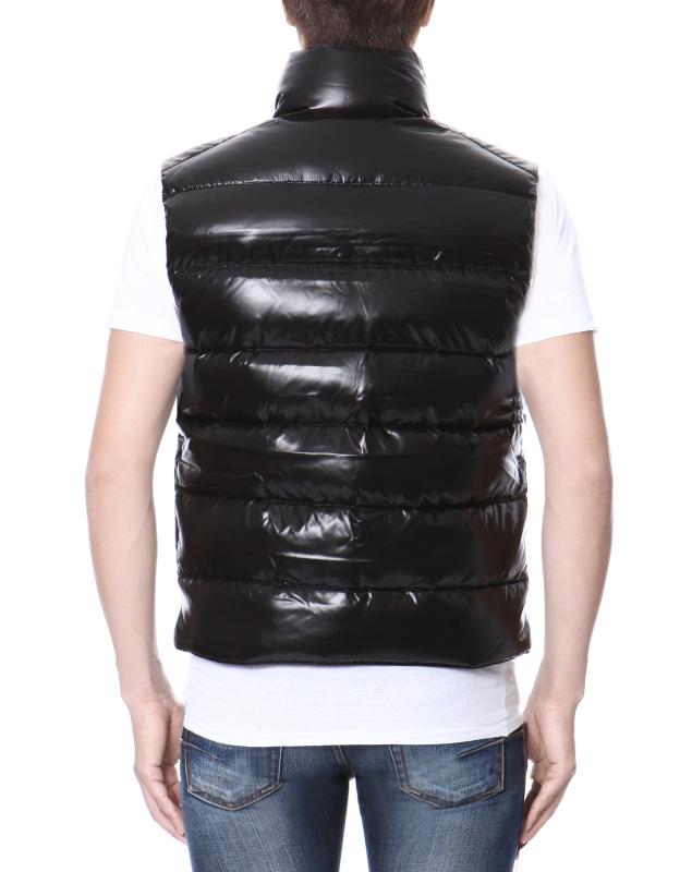 MONCLER MONCLER down vest BLACK black TIB-TIB