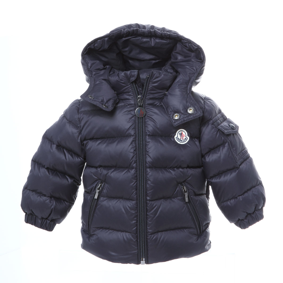 Down jacket JULES Jules NAVY dark blue 6M with Monk rail MONCLER outer baby Boys JULES 53079 742 food
