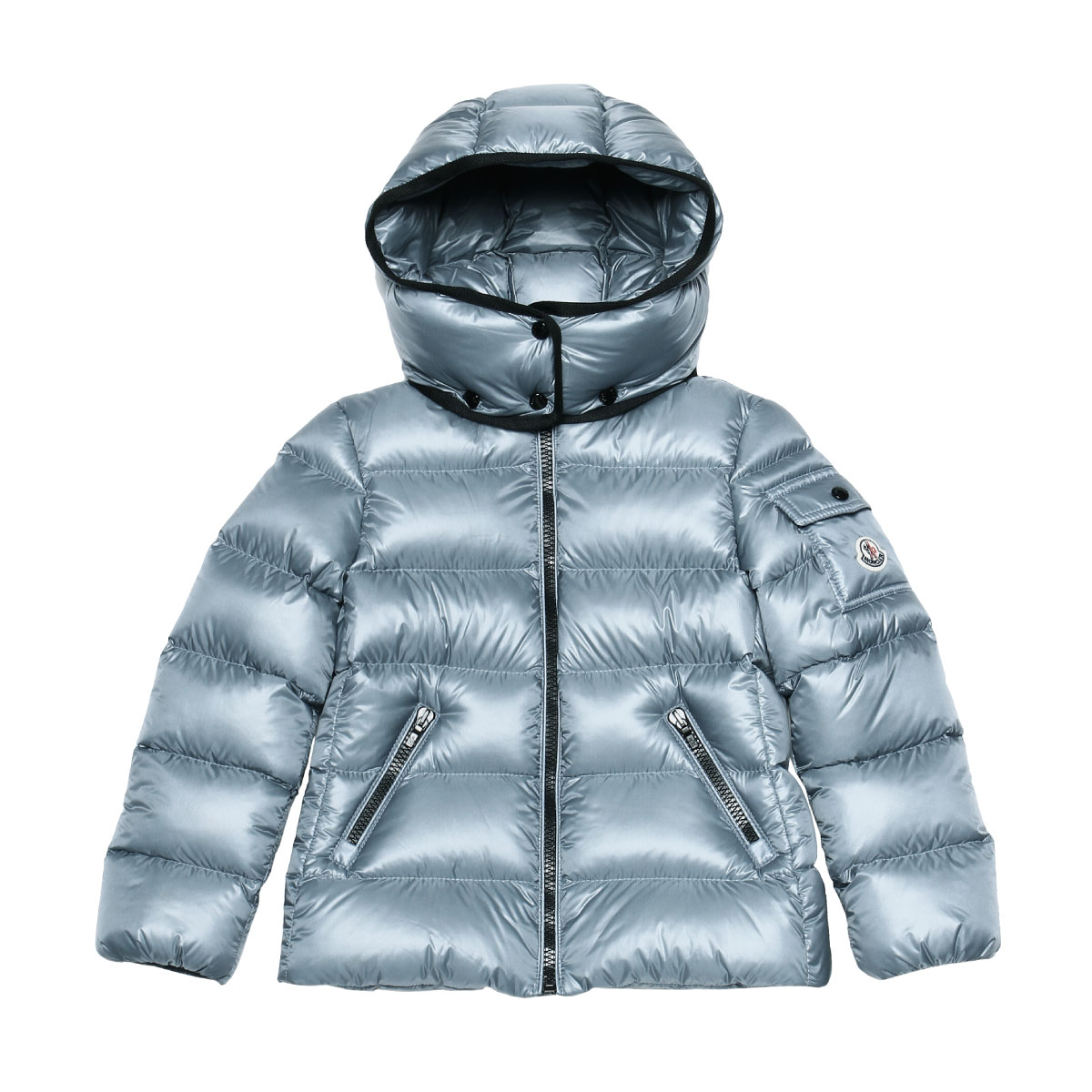 8e8f8590a65b Down jacket BERRE veil LIGHT BLUE light blue 4A - 10A with Monk rail MONCLER  outer kids girls BERRE 53052 71C food