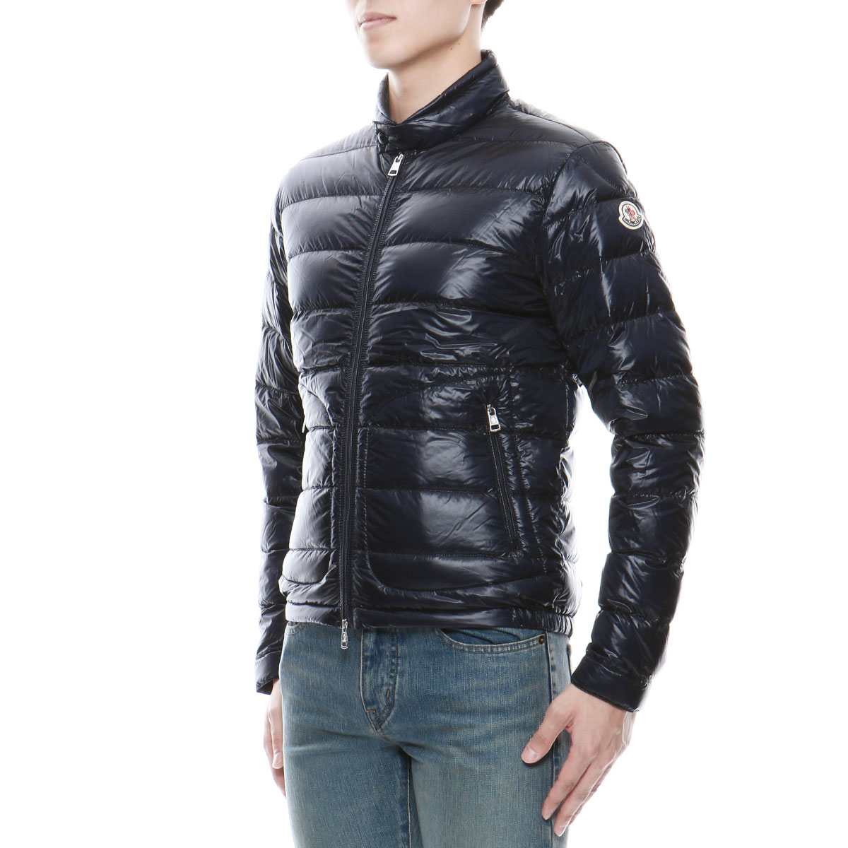 Monk rail MONCLER outer men ACORUS 53029 776 down jacket ACORUS アコルス NAVY dark blue