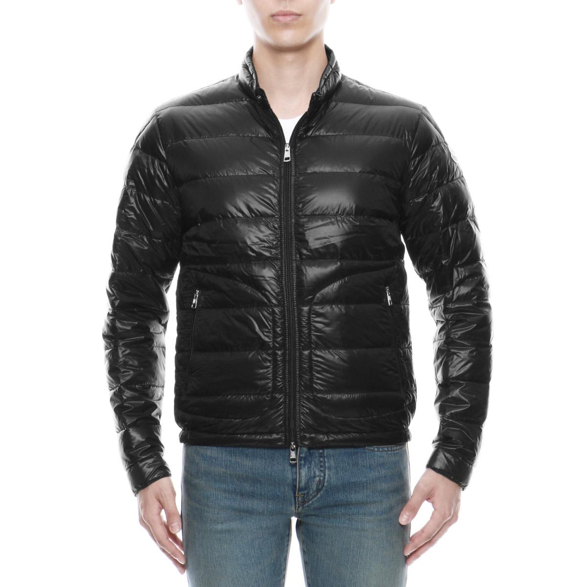 Monk rail MONCLER outer men ACORUS 53029 999 down jacket ACORUS アコルス BLACK black