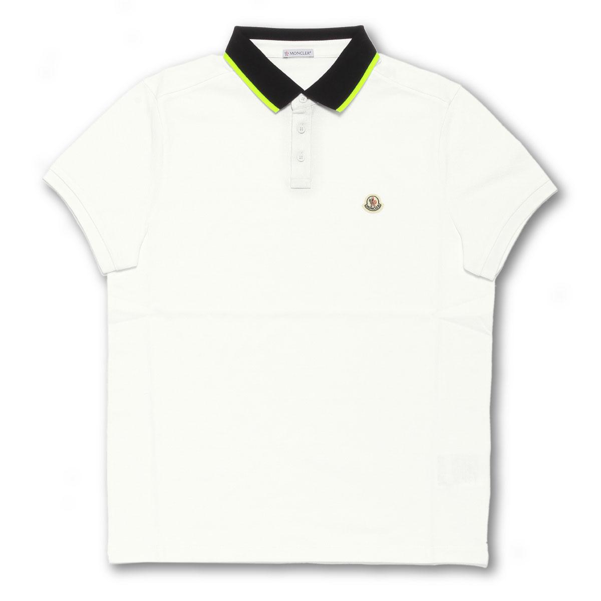 モンクレール MONCLER ポロシャツ メンズ 8304100 84556 004 半袖ポロシャツ WHITE ホワイト