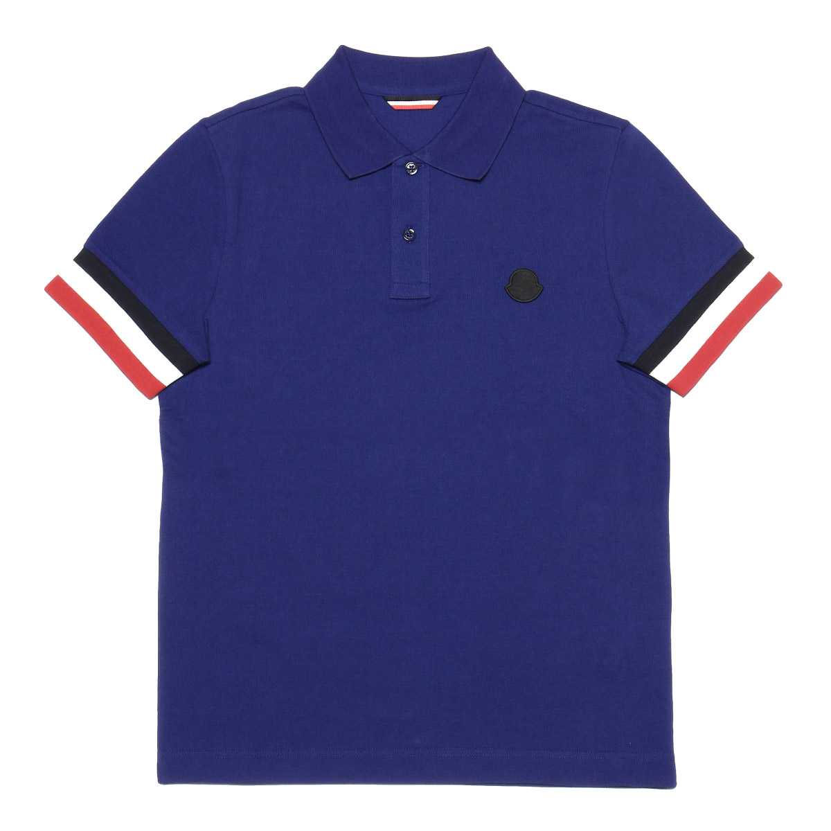 8318400 Monk rail MONCLER polo shirt men 84556 76A short sleeves polo shirt BLUE blue