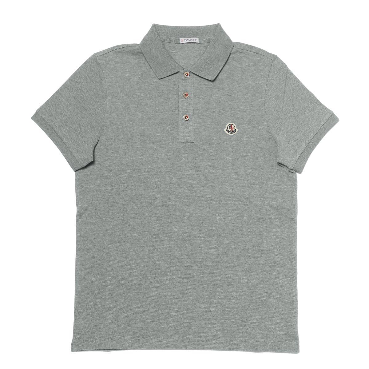モンクレール MONCLER ポロシャツ メンズ 8340800 84556 984 半袖ポロシャツ GREY グレー
